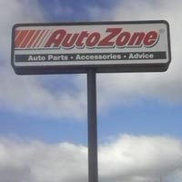 AutoZone Pole sign Tulsa