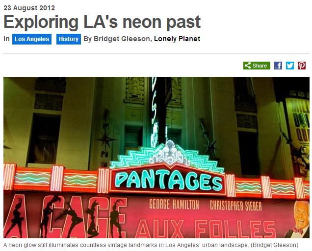 exploring las neon past