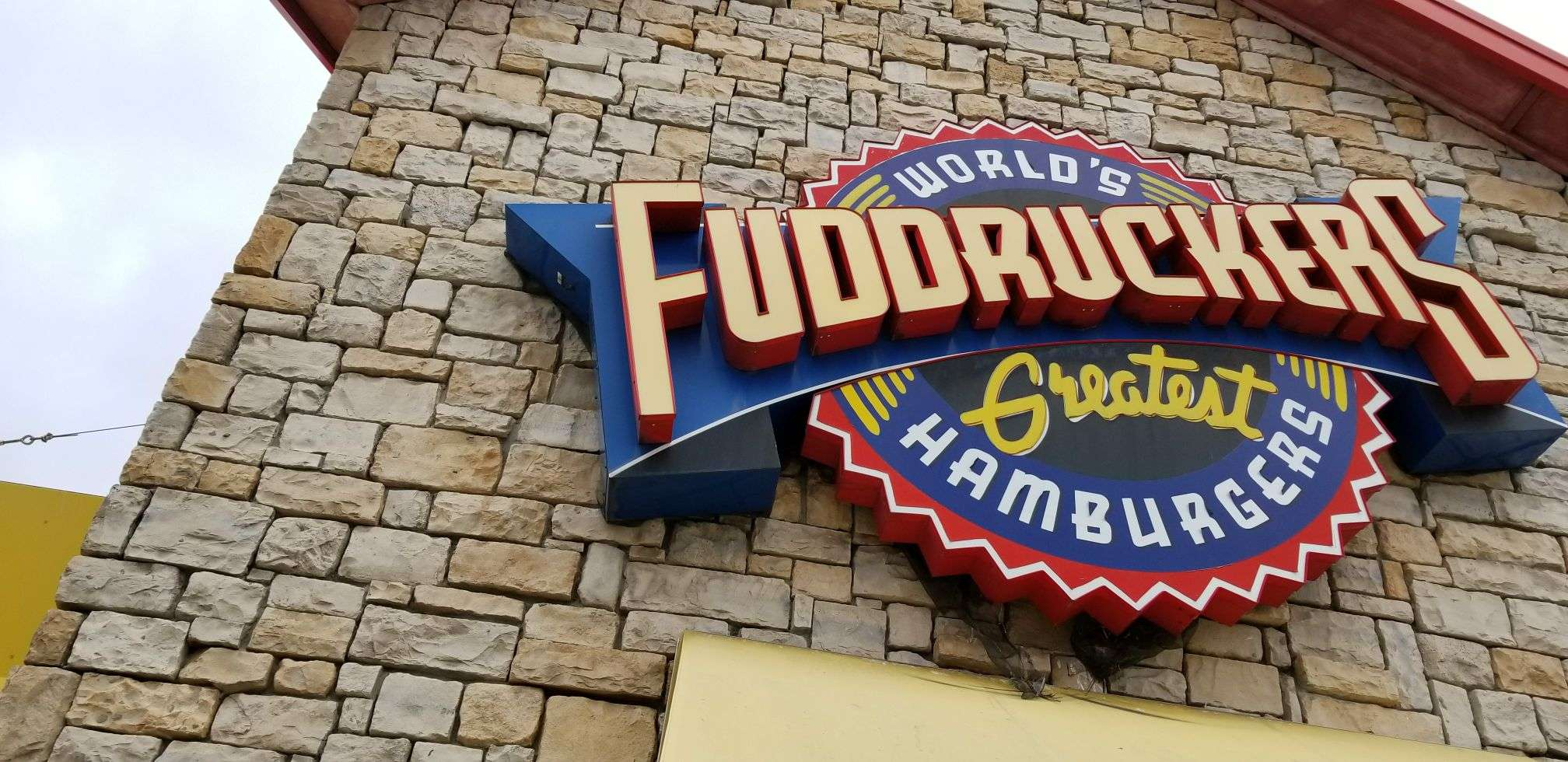 Fuddruckers Sign